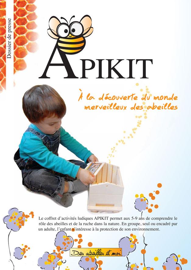 Dossier de presse et site Des abeilles et moi