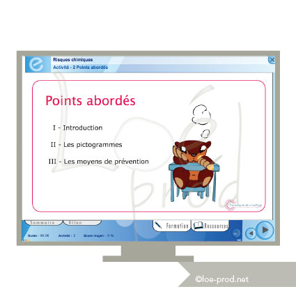 Sommaire e-learning