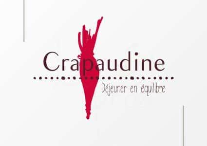 Identité graphique Crapaudine : la betterave moderne