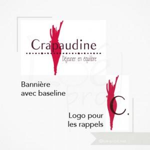 Bannière avec baseline et Logo pour les rappels