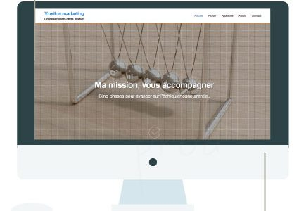 [Retrospective sur les travaux web #1] Y.psilon marketing